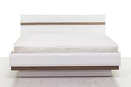 Кровать двуспальная (Linate 160/TYP 92), коллекции Линате, Белый, Анрэкс (Беларусь)
