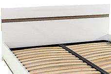 Кровать двуспальная (Linate 160/TYP 92), коллекции Линате, Белый, Анрэкс (Беларусь), фото 3