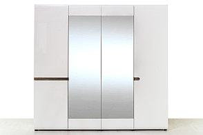 Шкаф для одежды 4Д (Linate 4D/ TYP 23 А) коллекции Линате, Белый, Анрэкс (Беларусь), фото 2