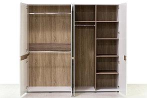 Шкаф для одежды 4Д (Linate 4D/ TYP 23 А) коллекции Линате, Белый, Анрэкс (Беларусь), фото 3