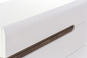 Шкаф для книг навесной 1Д  (Linate 1D/TYP 66), коллекции Линате, Белый, Анрэкс (Беларусь), фото 2