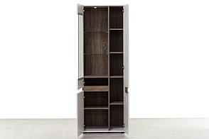 Шкаф витрина  3Д  (Linate 3D/TYP 01 L) коллекции Линате, Белый, Анрэкс (Беларусь), фото 3