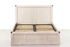 Кровать двуспальная (Magellan 160), коллекции Магеллан, Сосна Винтаж, Анрэкс (Беларусь), фото 3