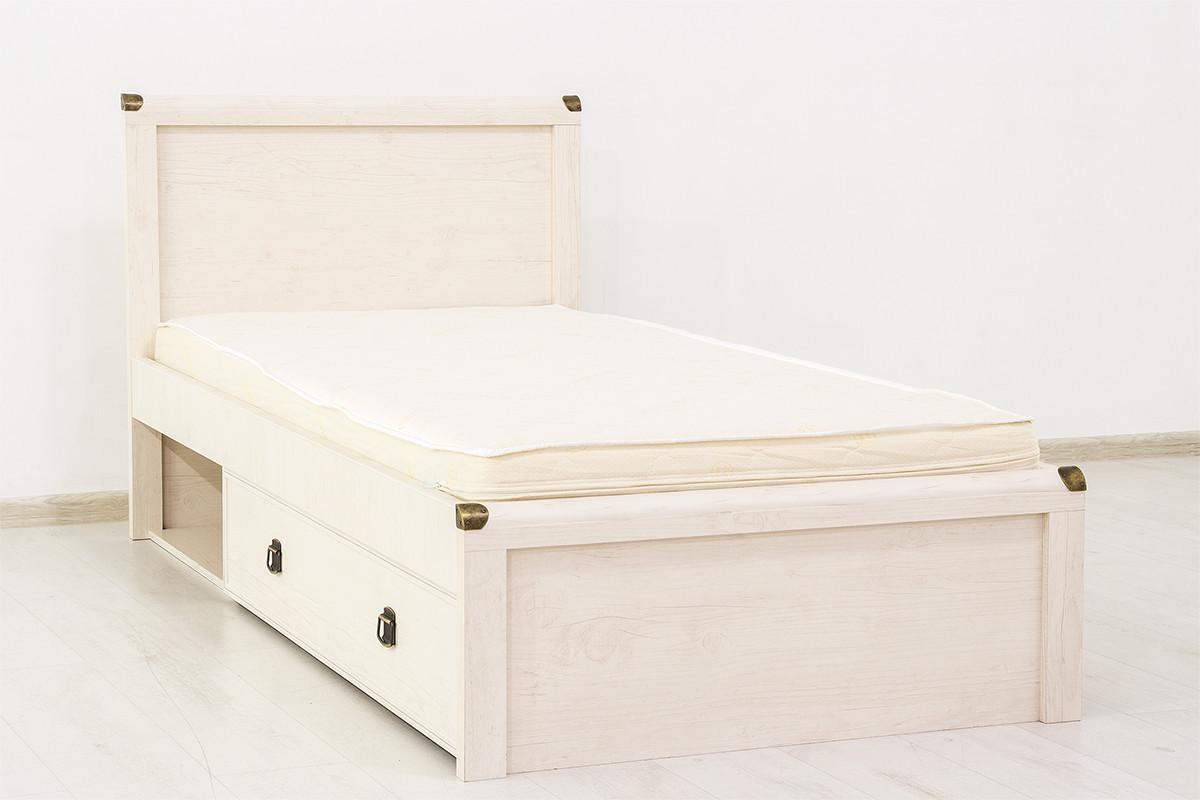 Кровать односпальная (Magellan 90), коллекции Магеллан, Сосна Винтаж, Анрэкс (Беларусь)
