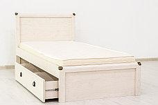 Кровать односпальная (Magellan 90), коллекции Магеллан, Сосна Винтаж, Анрэкс (Беларусь), фото 2