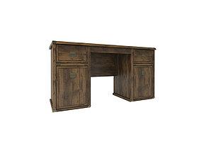 Стол письменный (Magellan 2D3S), Дуб Саттер, коллекции Магеллан, Анрэкс (Беларусь), фото 2