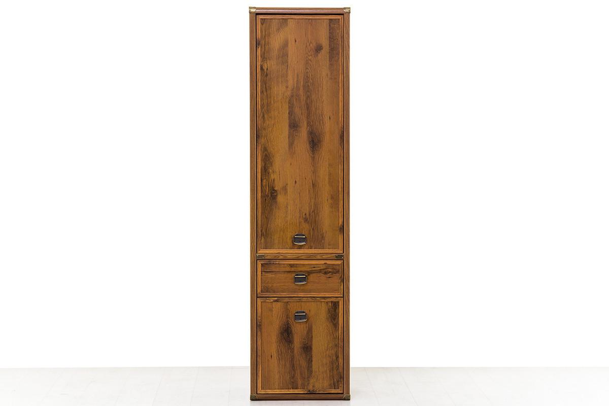Шкаф пенал пристенный 2Д  (Magellan 2D1S), коллекции Магеллан, Дуб Саттер, Анрэкс (Беларусь)