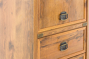 Шкаф пенал пристенный 2Д  (Magellan 2D1S), коллекции Магеллан, Дуб Саттер, Анрэкс (Беларусь), фото 3