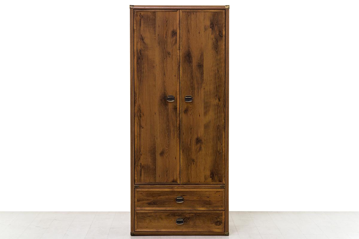 Шкаф для одежды 2Д (Magellan 2DG2S) коллекции Магеллан, Дуб Саттер, Анрэкс (Беларусь)