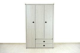 Шкаф для одежды 3Д  (Magellan 3DG2S), коллекции Магеллан, Сосна Винтаж, Анрэкс (Беларусь)