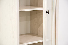 Шкаф витрина 2Д (Magellan 1V1D1S), коллекции Магеллан, Сосна Винтаж, Анрэкс (Беларусь), фото 3