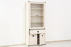 Шкаф витрина 4Д (Magellan 2V2D1S), коллекции Магеллан, Сосна Винтаж, Анрэкс (Беларусь), фото 2