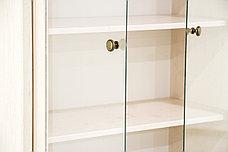 Шкаф витрина 4Д (Magellan 2V2D1S), коллекции Магеллан, Сосна Винтаж, Анрэкс (Беларусь), фото 3