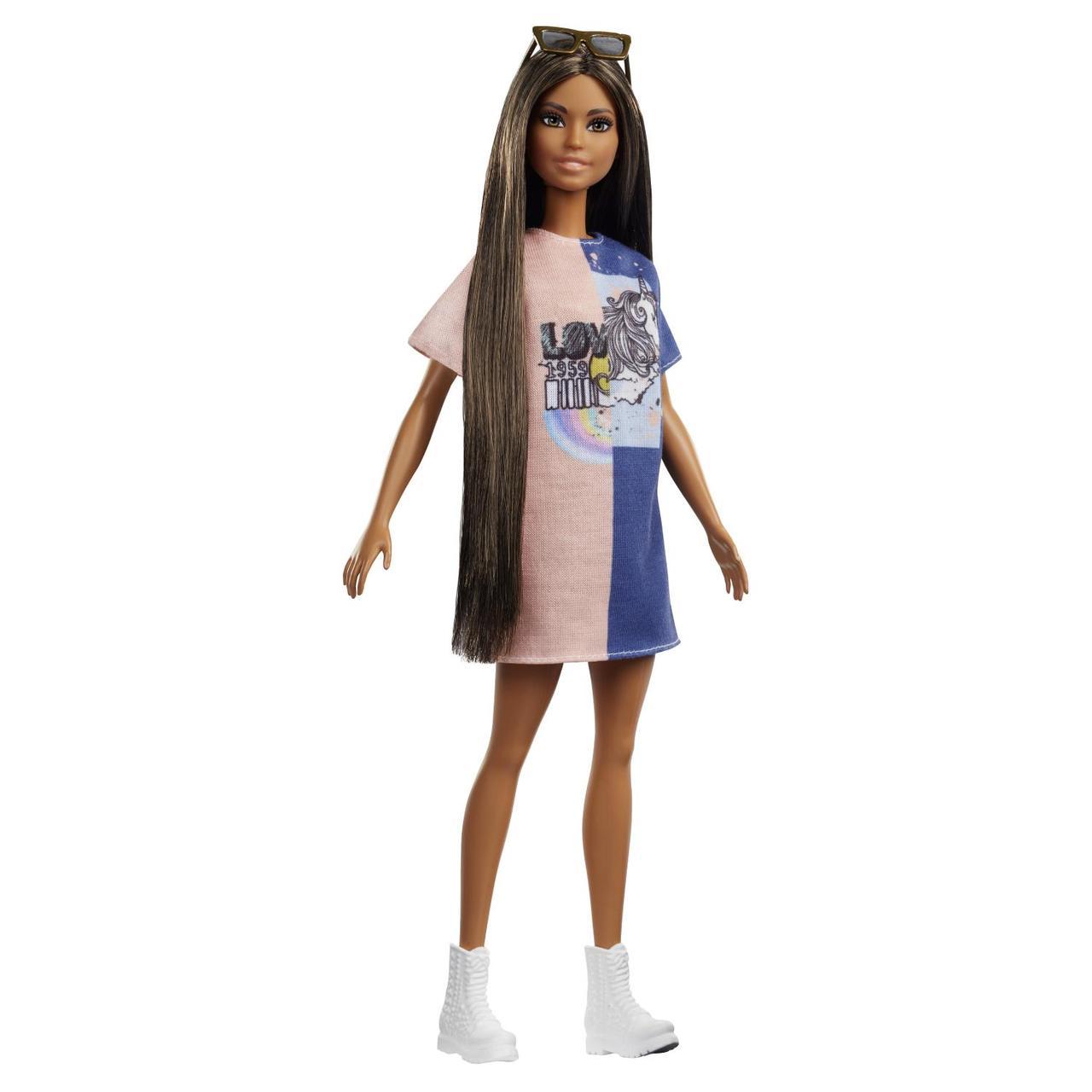 "Barbie ""Игра с модой"" Кукла Барби Шатенка #103"