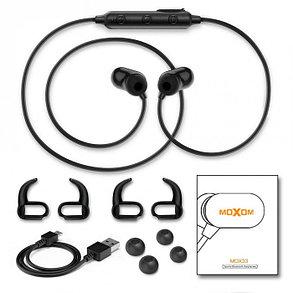 Наушники Moxom MOX33 Bluetooth Black, фото 2