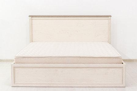 Кровать двуспальная (Monako 160 с подъемником), коллекции Монако, Сосна Винтаж, Анрэкс (Беларусь), фото 2