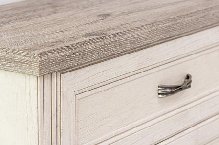 Шкаф пенал 2Д (Monako 2D1S), коллекции Монако, Сосна Винтаж, Анрэкс (Беларусь), фото 2