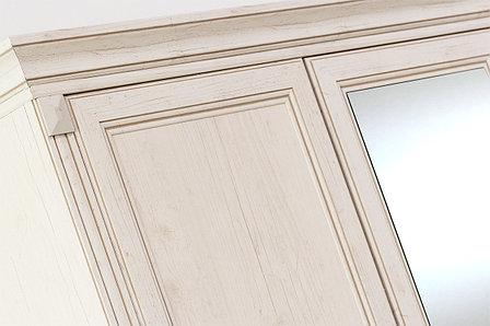 Шкаф для одежды 3Д (Monako 3D4S), коллекции Монако, Сосна Винтаж, Анрэкс (Беларусь), фото 2
