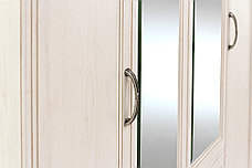 Шкаф для одежды 4Д (Monako 4D2S), коллекции Монако, Сосна Винтаж, Анрэкс (Беларусь), фото 3