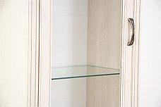 Шкаф витрина 2Д (Monako 1V1D1S), коллекции Монако, Сосна Винтаж, Анрэкс (Беларусь), фото 3