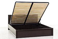 Кровать двуспальная (Monte 160 с подъемником) с подъемным механизмом, коллекции Монте, Дуб Ниагара, Анрэкс, фото 2