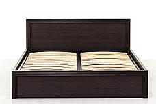 Кровать двуспальная (Monte 160 с подъемником) с подъемным механизмом, коллекции Монте, Дуб Ниагара, Анрэкс, фото 3
