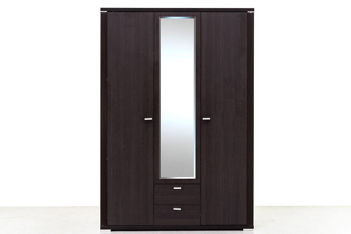 Шкаф для одежды 3Д (Monte 3D2S) коллекции Монте, Дуб Ниагара, Анрэкс (Беларусь)