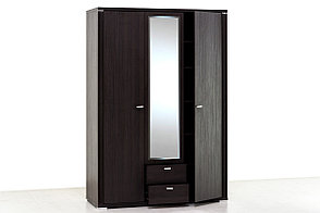 Шкаф для одежды 3Д (Monte 3D2S) коллекции Монте, Дуб Ниагара, Анрэкс (Беларусь), фото 2