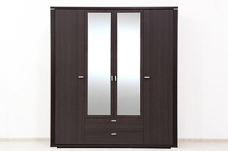 Шкаф для одежды 4Д (Monte 4D2S) коллекции Монте, Дуб Ниагара, Анрэкс (Беларусь), фото 2