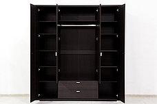 Шкаф для одежды 4Д (Monte 4D2S) коллекции Монте, Дуб Ниагара, Анрэкс (Беларусь), фото 3