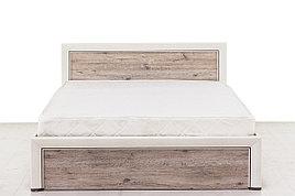 Кровать двуспальная (Olivia 140 с подъемником), коллекции Оливия, Дуб Анкона, Анрэкс (Беларусь)