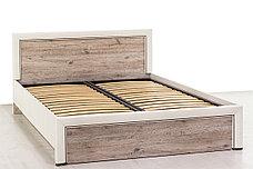Кровать двуспальная (Olivia 140 с подъемником), коллекции Оливия, Дуб Анкона, Анрэкс (Беларусь), фото 3