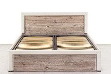 Кровать двуспальная (Olivia 140 с подъемником), коллекции Оливия, Дуб Анкона, Анрэкс (Беларусь), фото 2