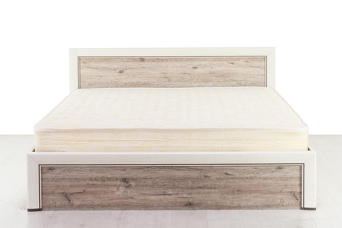 Кровать двуспальная (Olivia 160 с подъемником), коллекции Оливия, Дуб Анкона, Анрэкс (Беларусь)