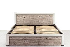 Кровать двуспальная (Olivia 160 с подъемником), коллекции Оливия, Дуб Анкона, Анрэкс (Беларусь), фото 3