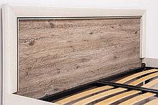 Кровать двуспальная (Olivia 160), коллекции Оливия, Дуб Анкона, Анрэкс (Беларусь), фото 3