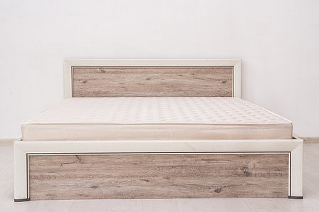 Кровать двуспальная (Olivia 180), коллекции Оливия, Дуб Анкона, Анрэкс (Беларусь), фото 2