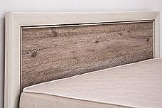 Кровать двуспальная (Olivia 180), коллекции Оливия, Дуб Анкона, Анрэкс (Беларусь), фото 3