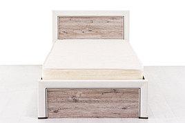 Кровать односпальная (Olivia 90), коллекции Оливия, Дуб Анкона, Анрэкс (Беларусь)