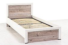 Кровать односпальная (Olivia 90), коллекции Оливия, Дуб Анкона, Анрэкс (Беларусь), фото 2