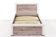 Кровать односпальная (Olivia 90), коллекции Оливия, Дуб Анкона, Анрэкс (Беларусь), фото 3