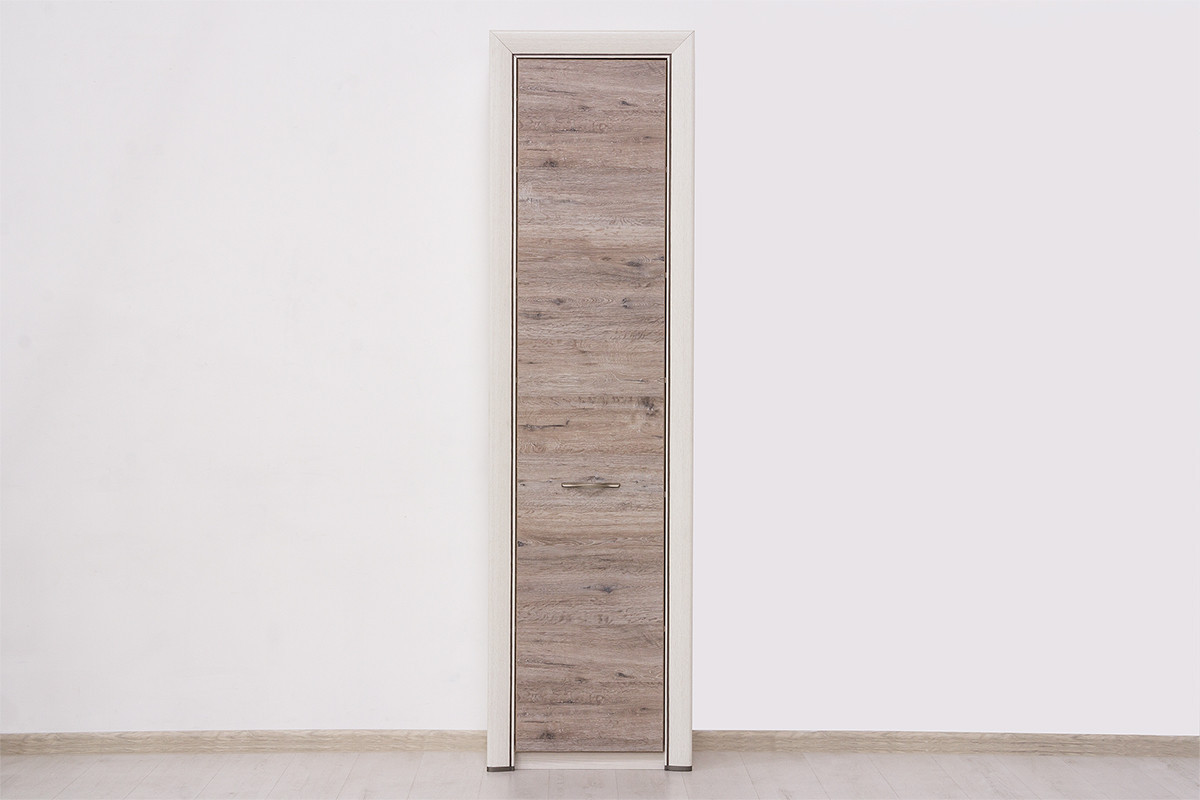 Шкаф пенал 1Д (Olivia 1D) коллекции Оливия, Дуб Анкона, Анрэкс (Беларусь)