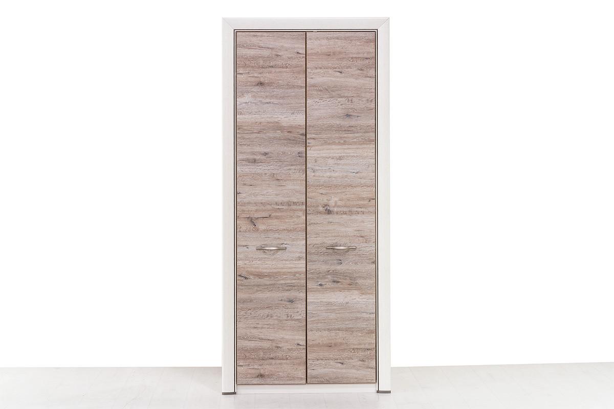 Шкаф пенал 1Д (Olivia 1DG), коллекции Оливия, Дуб Анкона, Анрэкс (Беларусь)