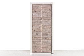 Шкаф для одежды 2Д (Olivia 2DG) коллекции Оливия, Дуб Анкона, Анрэкс (Беларусь), фото 2
