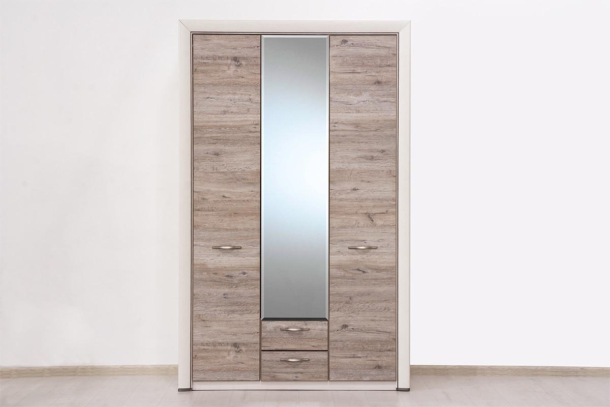 Шкаф для одежды 3Д (Olivia 3D2S Z) коллекции Оливия, Дуб Анкона, Анрэкс (Беларусь)