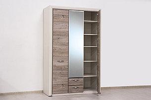 Шкаф для одежды 3Д (Olivia 3D2S Z) коллекции Оливия, Дуб Анкона, Анрэкс (Беларусь), фото 2