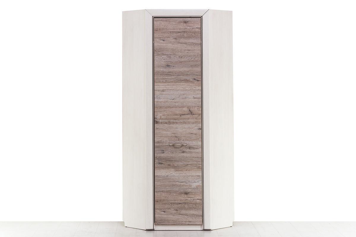 Шкаф для одежды угловой 1Д (Olivia с полк. 77х77), коллекции Оливия, Вудлайн Кремовый, Анрэкс (Беларусь)