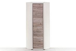 Шкаф для одежды угловой 1Д (Olivia с полк. 77х77), коллекции Оливия, Вудлайн Кремовый, Анрэкс (Беларусь), фото 2