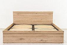 Кровать двуспальная (Oskar 140), коллекции Оскар, Дуб Санремо, Анрэкс (Беларусь), фото 2