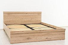 Кровать двуспальная (Oskar 160), коллекции Оскар, Дуб Санремо, Анрэкс (Беларусь), фото 2